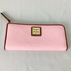 Dooney & Bourke pink leather wallet